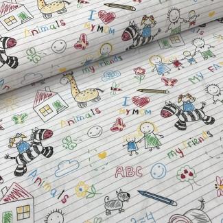 Хлопковые ткани с рисунком(Польша)