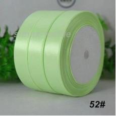 Лента атласная 25 мм. Светло-зеленый