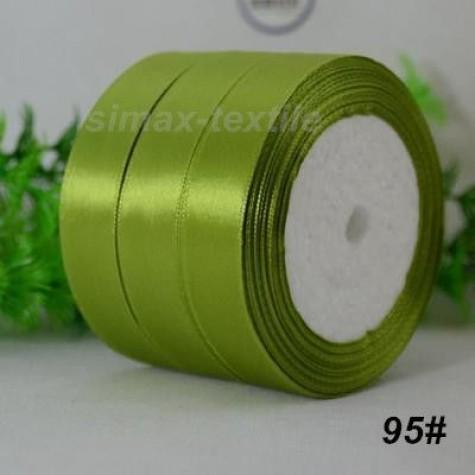 Лента атласная 25 мм. Светло-оливковый, 95 Светло-оливковый